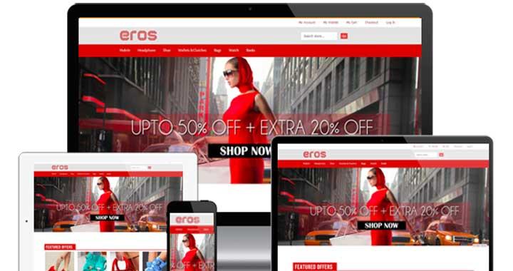 EROS Free Theme for Magento