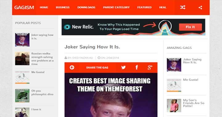 Gagism Free Blogger Templates 2015