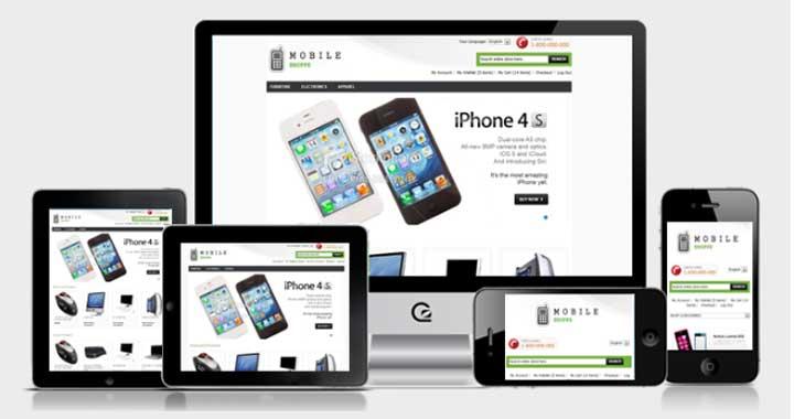 Mobile Free Magento Themes