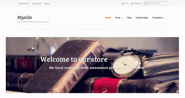 Mystile Woocommerce WordPress theme