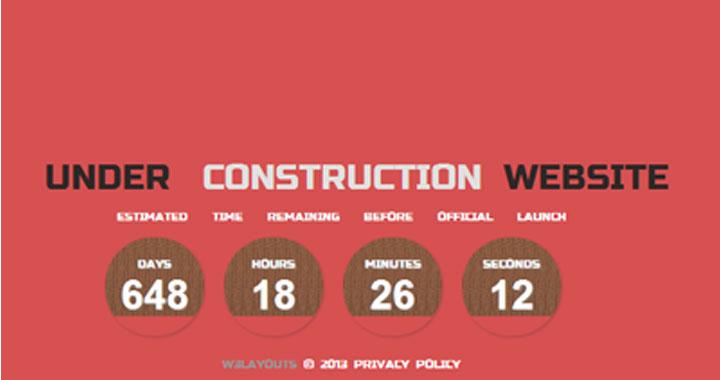 Pearl Coming Soon Website Template