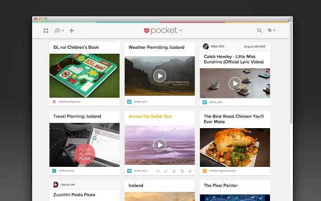 Best Google Chrome Pocket App