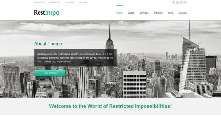 RestImpo Free WooCommerce Theme