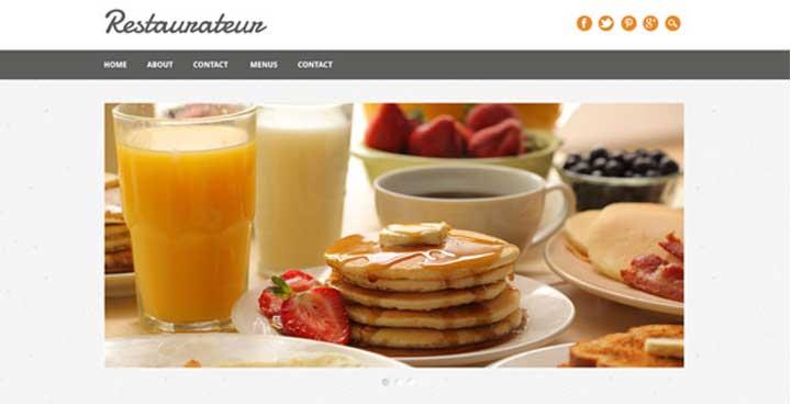 Restauranteur Free Food WordPress Themes