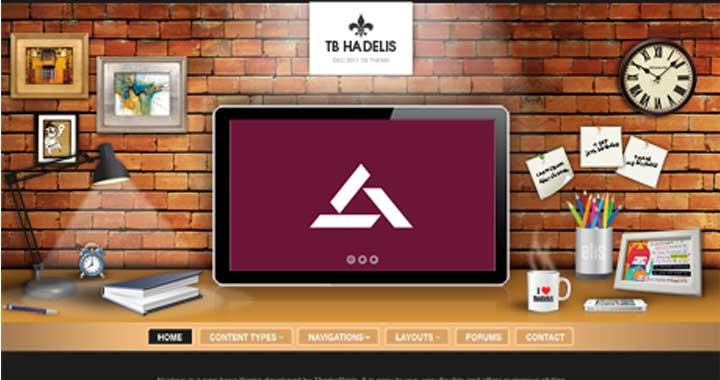 TB-Hadelis Responsive Drupal Template