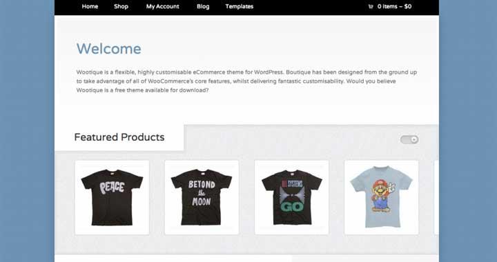 Wootique WP WooCommerce theme