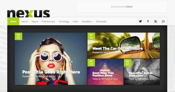 Nexus WordPress Magazine Theme