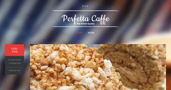 perfetta WordPress Themes Food