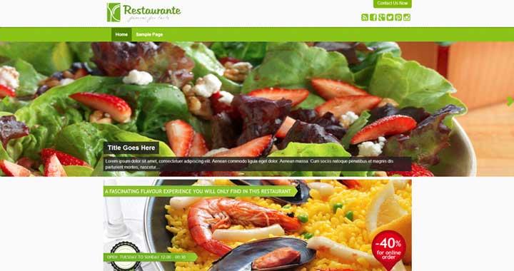Restaurante Template
