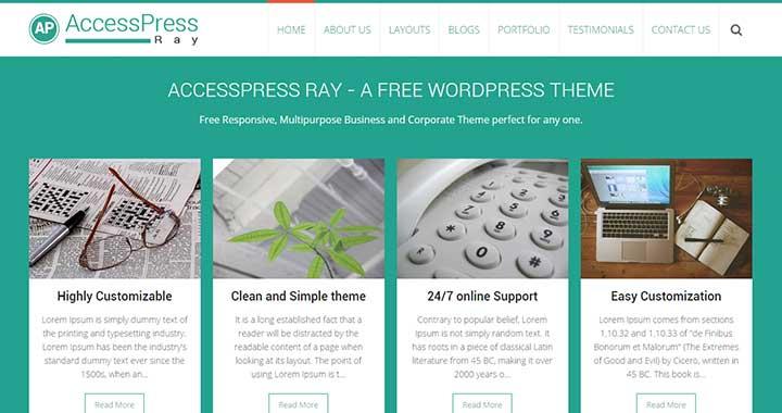 AccessPress Ray
