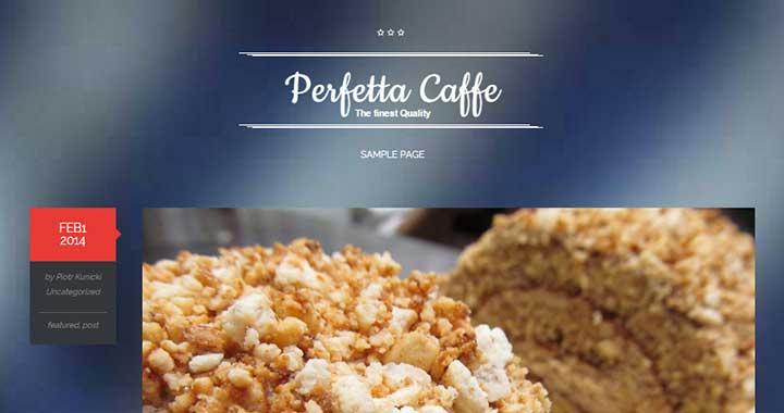 Perfetta Caffe Tumblr WordPress Themes