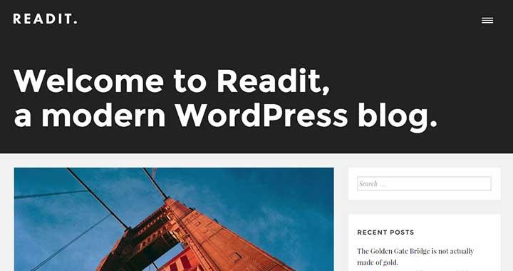 Readit Tumblr Theme WordPress