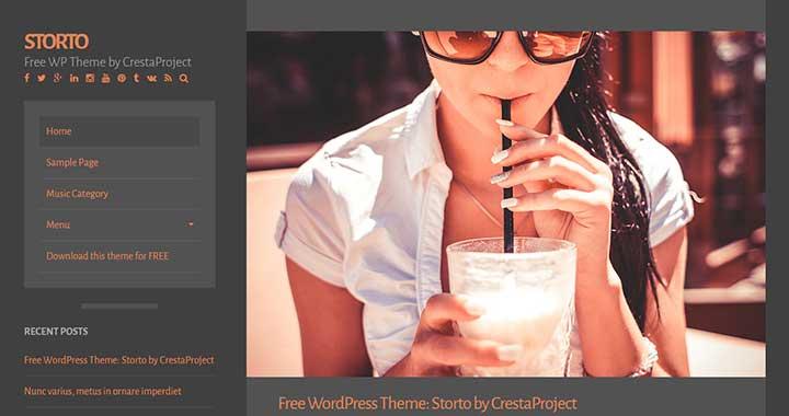 Storto Tumblr WordPress Themes