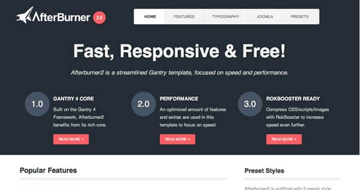 Free Responsive Joomla Templates