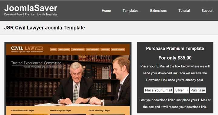 Civil Lawyer Joomla Theme