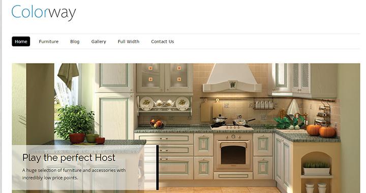 Colorway Best WordPress Blog Themes