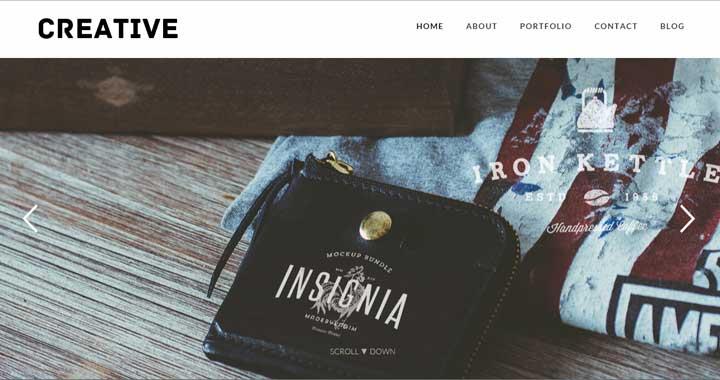 Creative Portfolio WordPress