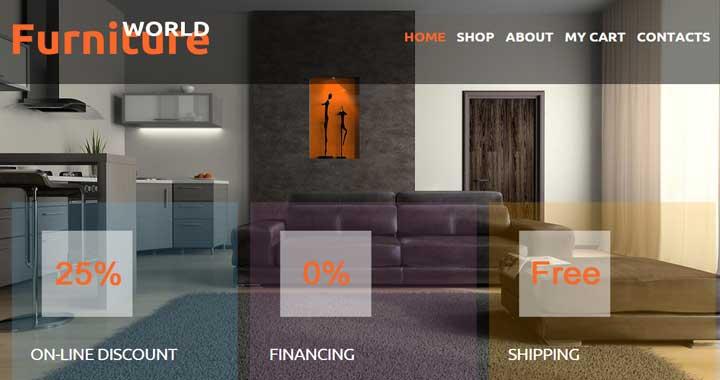 Furniture World Joomla Theme