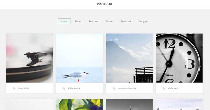 Gavick Portfolio WordPress Theme