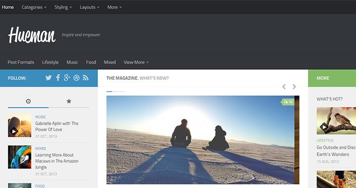 Hueman Free Blog WordPress Themes