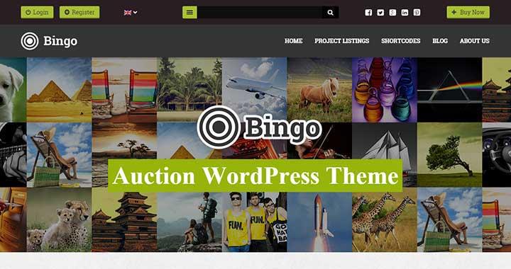 Bingo - Auction WordPress Theme