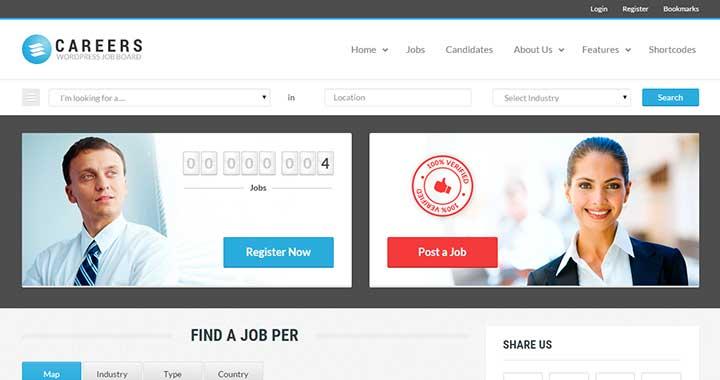 WordPress Careers Theme