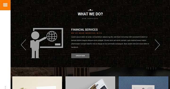 Electric Best Free WordPress Portfolio Themes
