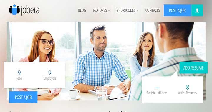 Jobera Job Board WordPress Themes