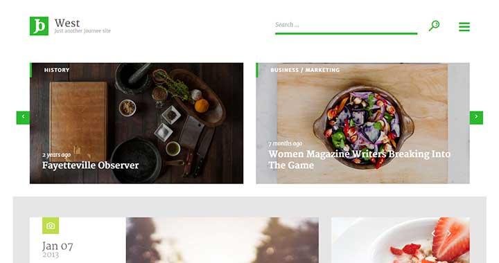 Journee Best WordPress Magazine Themes
