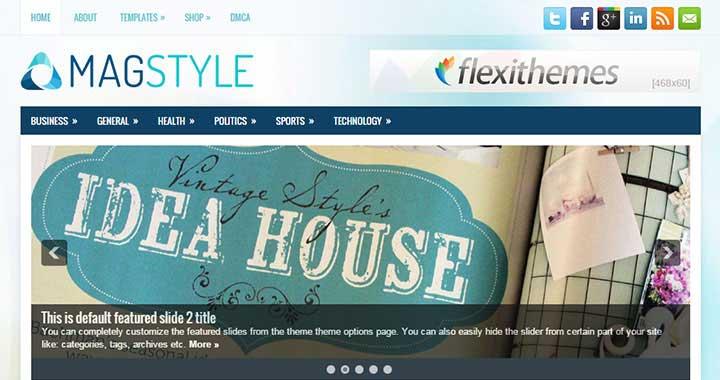 MagStyle New WordPress Template