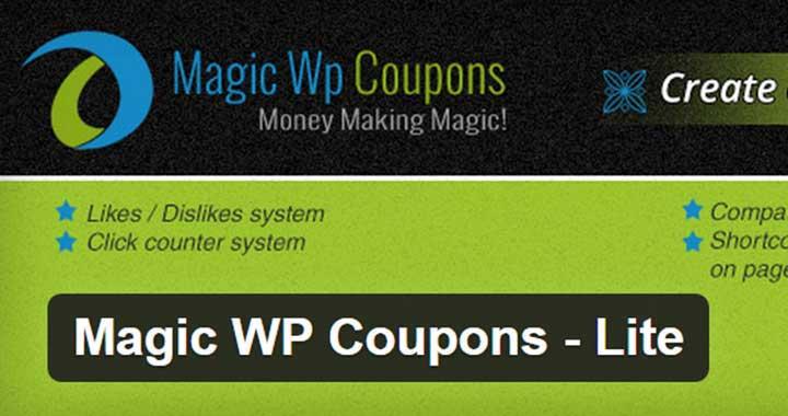 Magic WP Coupons