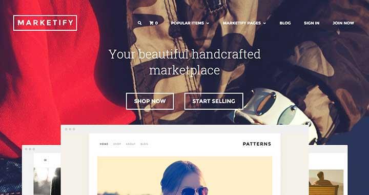 Marketify Marketplace WordPress Theme