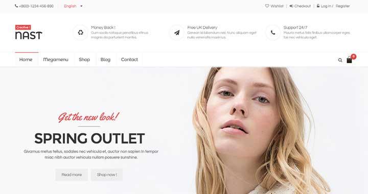 NastCreative New Premium WordPress Theme