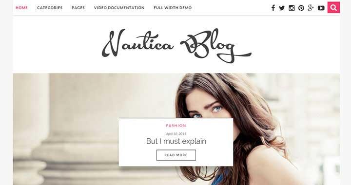 Nautica WordPress Theme Releases in 2015