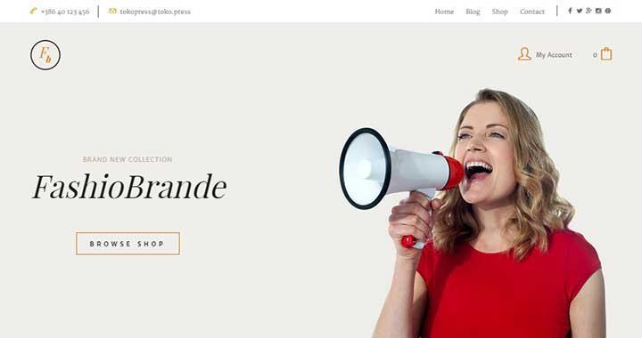Pasar Marketplace WordPress Themes