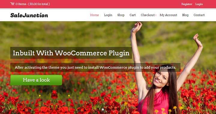 SaleJunction WordPress Theme Marketplace