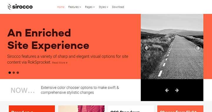 Sirocco WordPress Blog Themes