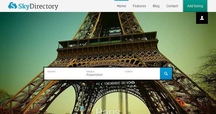 Sky WordPress Business Themes