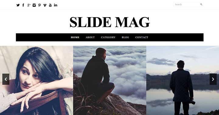 Slide Mag Magazine Theme WordPress