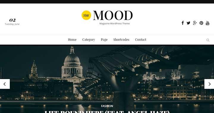 The Mood Simple WordPress Themes