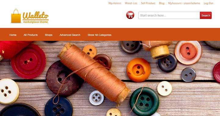 Walleto Marketplace WordPress Themes