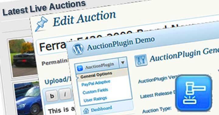 WordPress Auctions Plugin