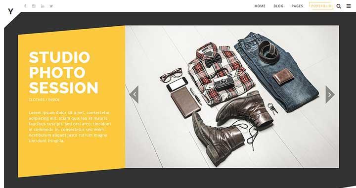 Yak WordPress Portfolio Theme