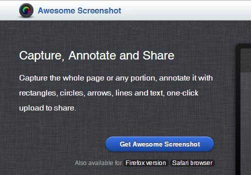 Awesomescreenshot Online Screenshot Tool