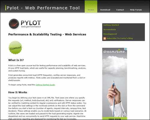 Pylot Online Speed Checker