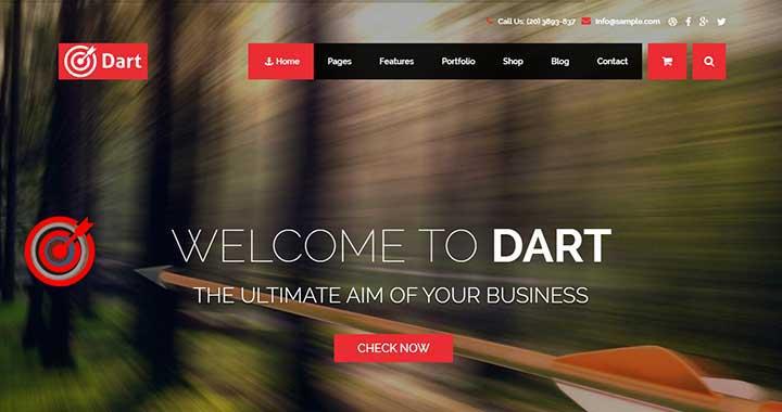 Dart WordPress Arabic Themes