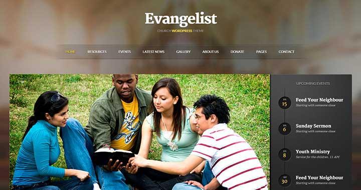 Evangelist Church WordPress Themes