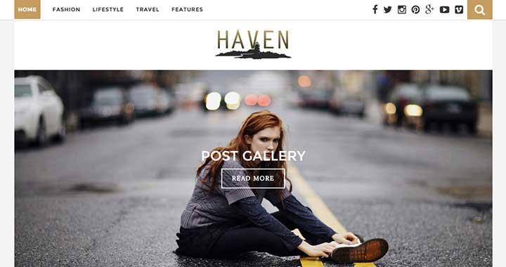 Haven WordPress Rtl Themes