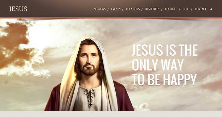 Jesus Best Church WordPress Themes