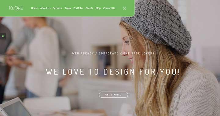 KeOne WordPress Arabic Themes